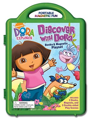 Discover With Dora Book & Magnetic Playset By Reader's Digest (COR)